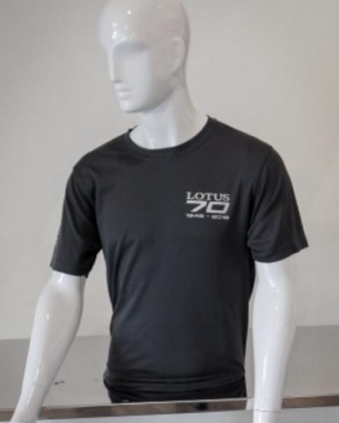 70th Anniversary T-Shirt grau