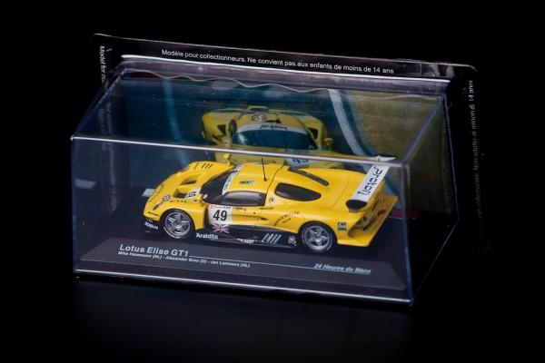 Modellauto Lotus Elise GT1 Le Mans 1:43