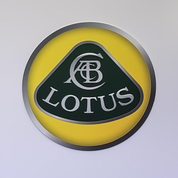 Lotus Messe Wand Logo