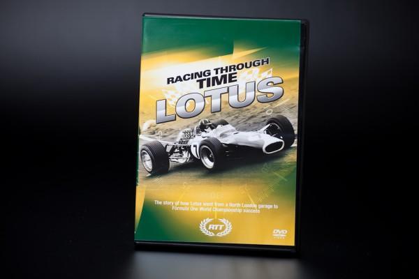 DVD Racing through time LOTUS
