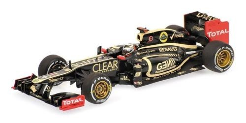 Modellauto Lotus F1 Team E20 Kimi Räikönnen 2012 1:18
