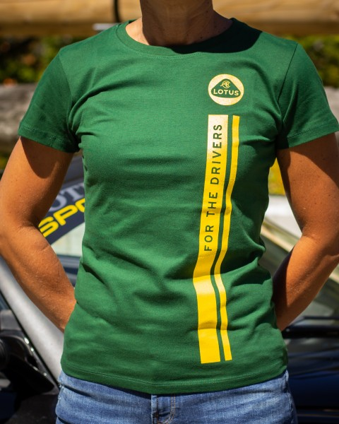 """Lotus T-Shirt """"For The Drivers""""/ woman"""