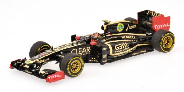 Modellauto Lotus F1 Team Romain Grosjean 1:43