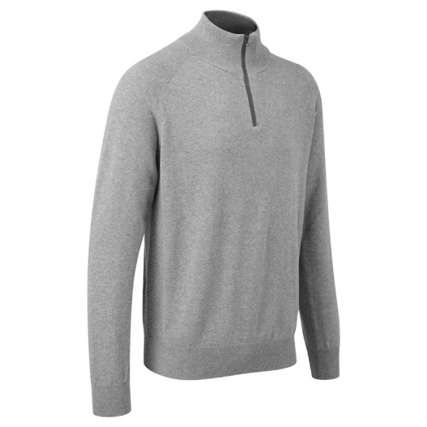 Lotus Originals Zip-Pullover grau