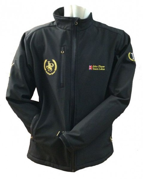 John Player Special Team Lotus Softshell Jacke & Mütze