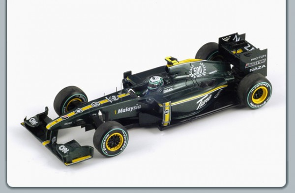 Modellauto Team Lotus F1 T127 Sondermodell 1:43