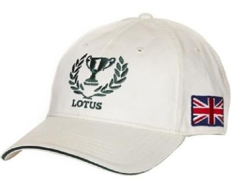 Lotus 1972 Heritage Cap Blau oder Weiß