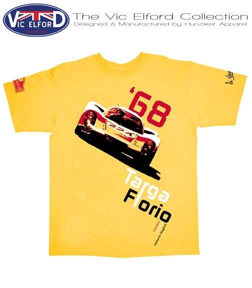 Porsche 907 Targa Florio T-Shirt/Gelb