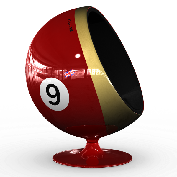 Motorsport Ball / Art Ball Jochen 49