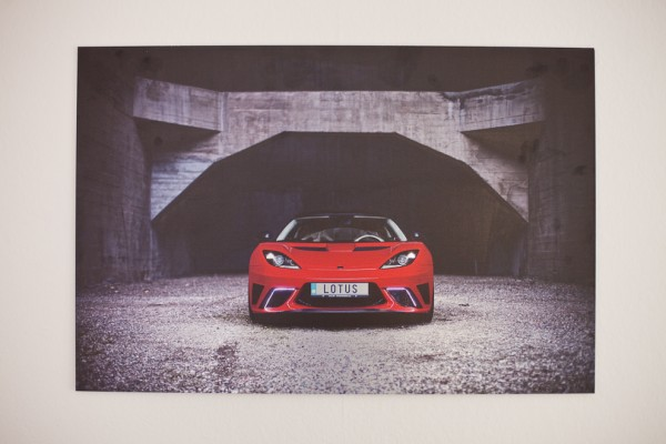 "Print Lotus Evora ""The Attacker"""