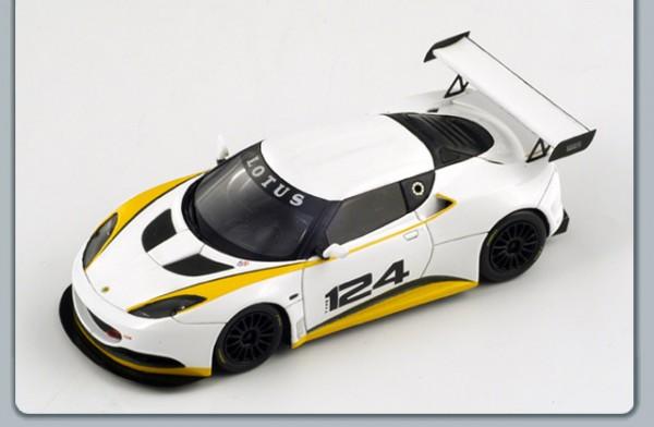 Modellauto Lotus Evora GT4 Cup 1:43