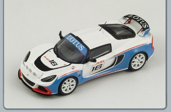 Modellauto Lotus Exige V6 R-GT Rallye 1:43