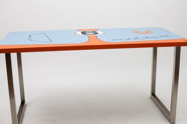 Motorsport Schreibtisch/ Rollcontainer Le Mans 69