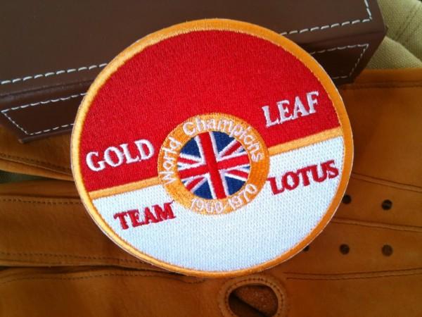 Aufnäher Gold Leaf Team Lotus