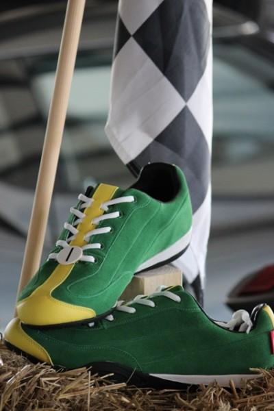 """British Racing Green"" Casual Driving Shoe"