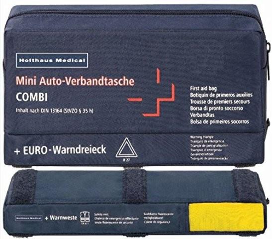 Mini-Auto-Verbandtasche 3in1