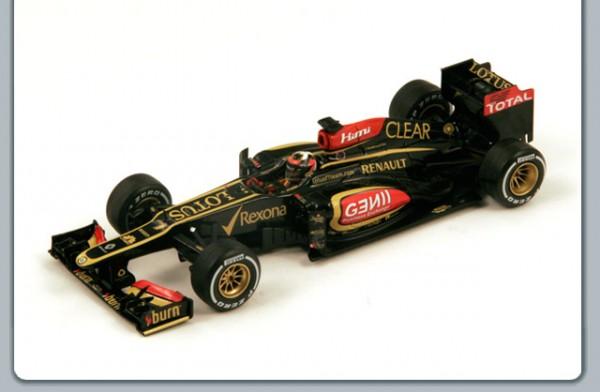 Modellauto Lotus E21 No.7 Kimi Räikönnen 2013 1:18