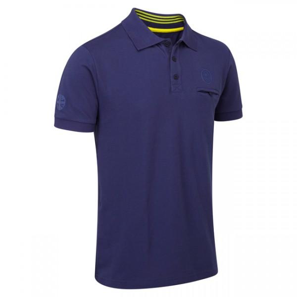 Lotus Lifestyle Polo-Shirt Blau