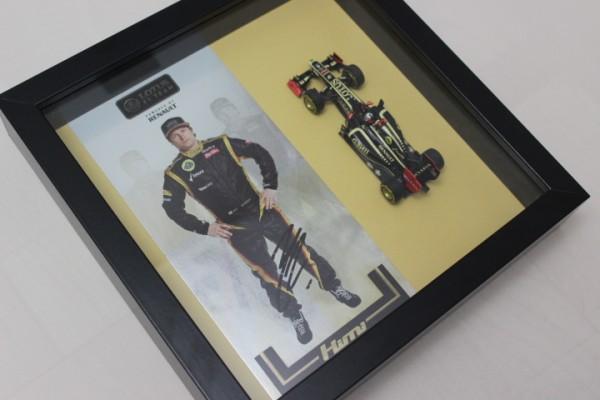 Diorama Autogramm Kimi Räikkönen
