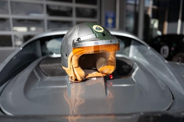 Team Lotus D-Jet Helm im Retro Look