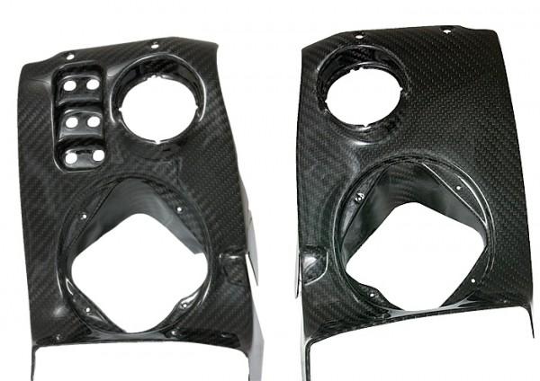 Carbon Armaturenbrettverkleidung Elise/ Exige Mk2 bis Modelljahr 2008 ohne Airbag