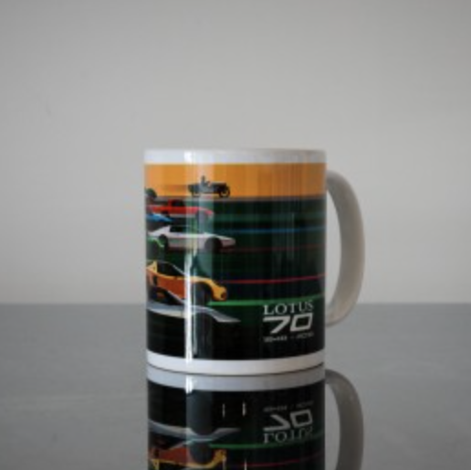 70th Anniversary Lotus Tasse