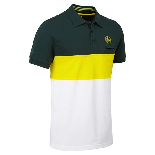 Lotus Lifestyle Polo-Shirt Stripes