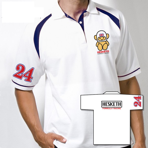 James Hunt Hesketh Team Polo-Shirt