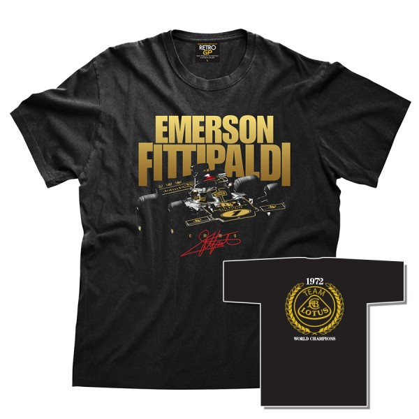 Emerson Fittipaldi JPS T-Shirt
