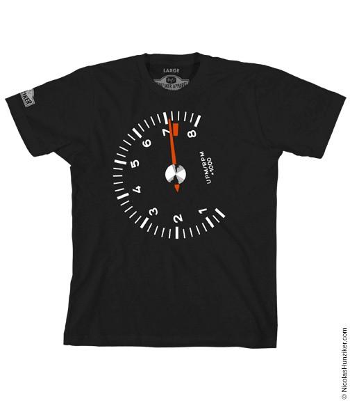 Racer´s Tach T-Shirt/ Drehzahlmesser T-Shirt