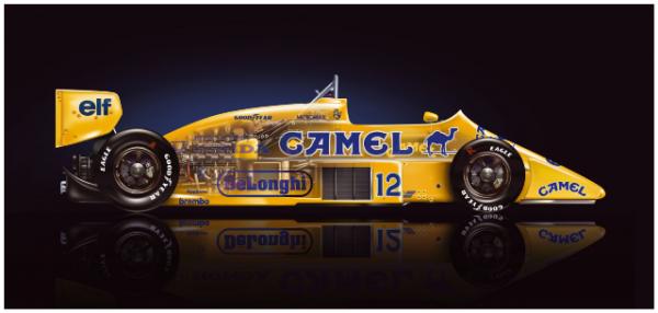 Lotus99T Karosseriezeichnung