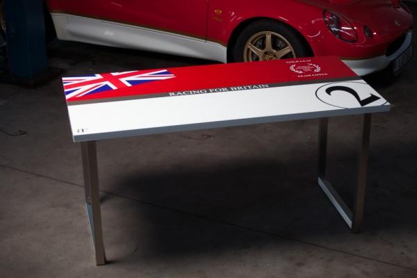 Motorsport Schreibtisch/ Rollcontainer Type 49