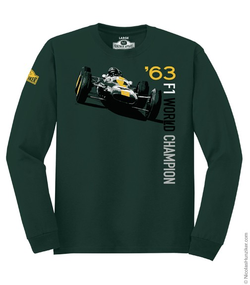 Jim Clark Team Lotus langarm Shirt