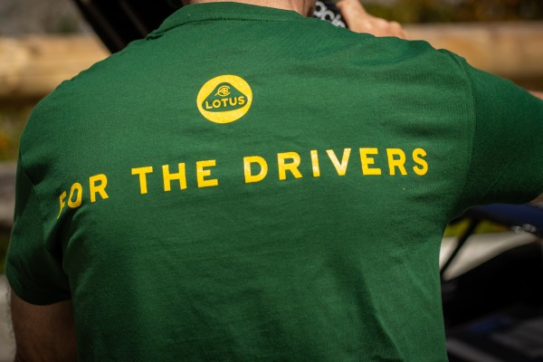 """Lotus T-Shirt """"For The Drivers""""/ man"""