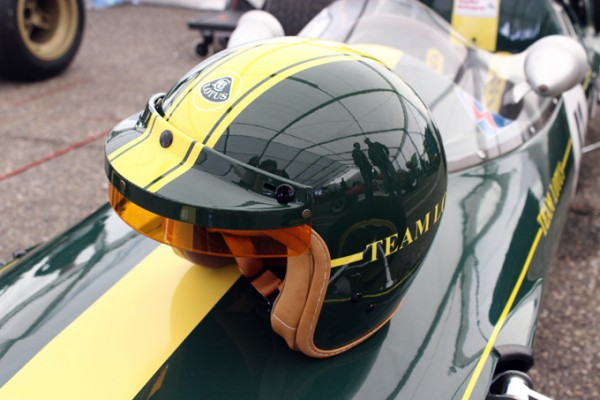 Team Lotus Helm im Retro Design/ limitiert