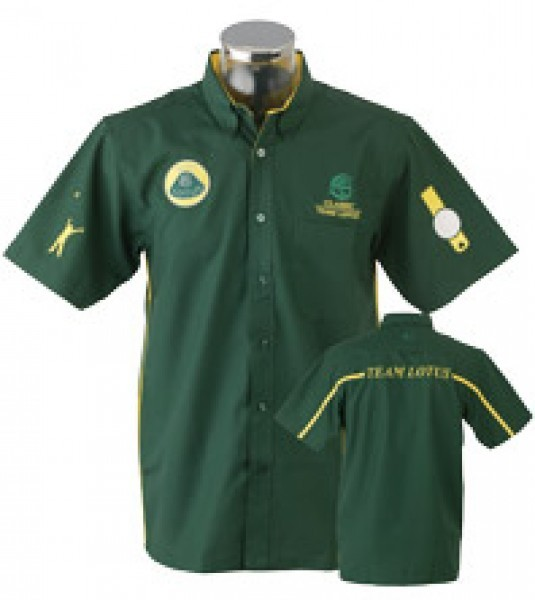 Classic Team Lotus Race Shirt/Hemd