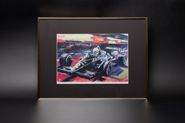 Bild Ayrton Senna San Marino