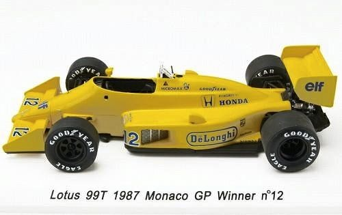 Modellauto Lotus 99T Ayrton Senna 1:43