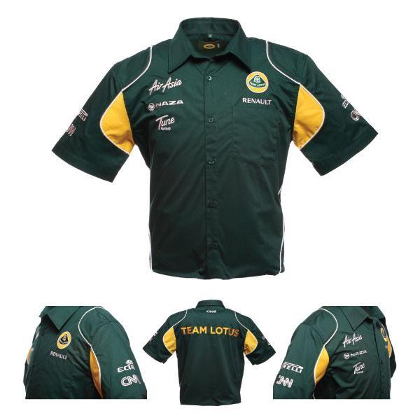 Lotus F1 Team Race Shirt/ Hemd grün