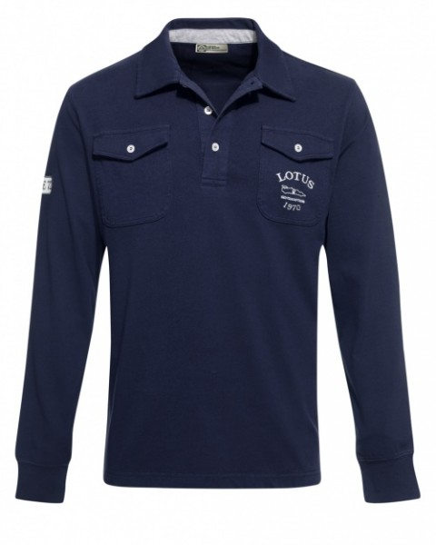 Lotus Lifestyle Polo-Shirt/ Long Sleeve