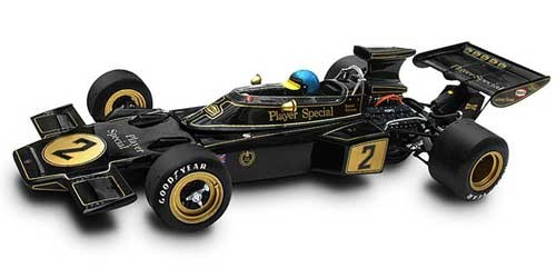 Modellauto JPS Team Lotus Type 72E Italien GP 1974 R.Peterson 1:18