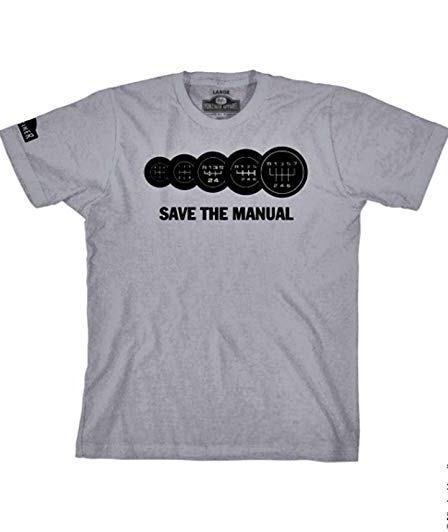 "T-Shirt "" Save the Manual"""