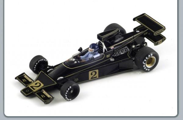 Modellauto Team Lotus F1 Type 76 JPS 1:43
