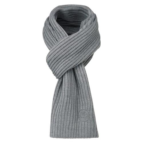Lotus Schal und Beanie/ Mütze Grau