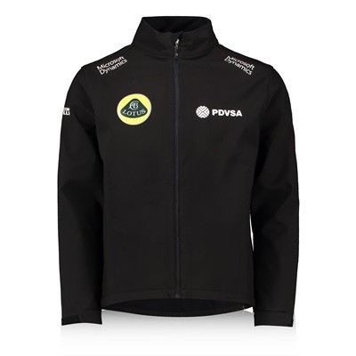 Lotus F1 Team Softshell Jacke 2015 men & Mütze