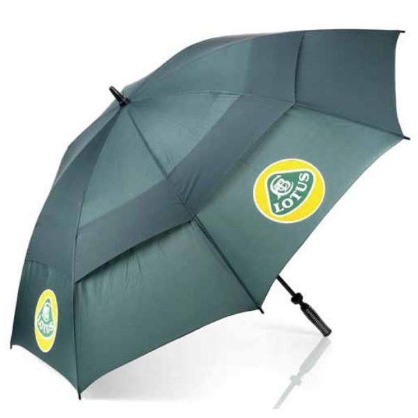 Lotus Classic Regenschirm/Schirm Grün