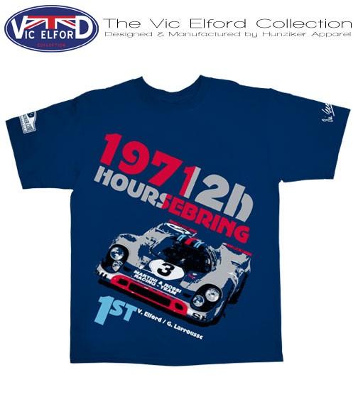 Porsche 917 Martini Racing T-Shirt/Blau