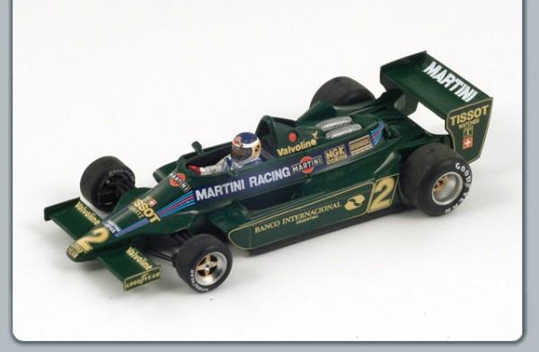 Modellauto Team Lotus F1 Type 79 Martini 1:43