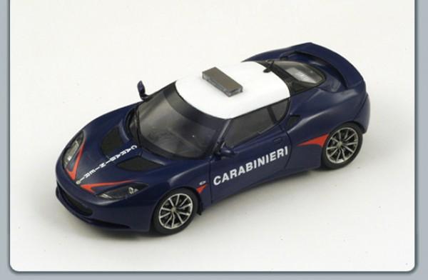 Modellauto Lotus Evora Carabinieri 1:43