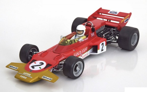 Modellauto Gold Leaf Team Lotus Type 72C Jochen Rindt Deutschland 1970 1:18